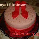Торт женская туфелька_16