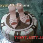 Торт женская туфелька_17
