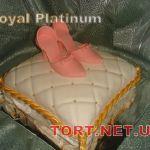Торт женская туфелька_18