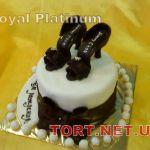 Торт женская туфелька_19