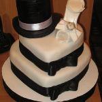 Торт женская туфелька_1