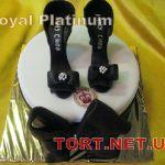 Торт женская туфелька_20