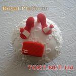 Торт женская туфелька_22