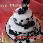 Торт женская туфелька_23