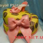 Торт женская туфелька_2