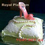 Торт женская туфелька_4