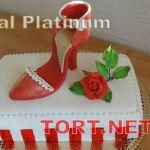 Торт женская туфелька_8