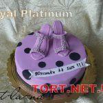 Торт женская туфелька_9