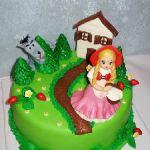 Торт Красная шапочка_3