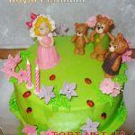 Торт Маша и три медведя_2