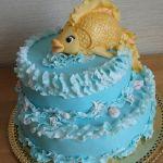 Торт Золотая рыбка_10