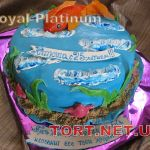 Торт Золотая рыбка_11