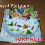 Торт Золотая рыбка_12