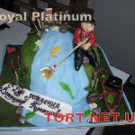 Торт Золотая рыбка_13