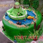 Торт Золотая рыбка_15