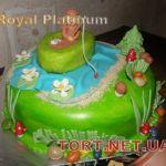 Торт Золотая рыбка_17