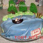 Торт Золотая рыбка_18