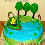 Торт Золотая рыбка_19