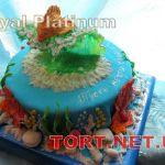 Торт Золотая рыбка_1