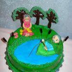 Торт Золотая рыбка_22
