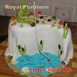 Торт Золотая рыбка_23
