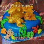 Торт Золотая рыбка_3