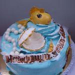 Торт Золотая рыбка_5