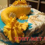 Торт Золотая рыбка_7