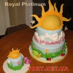 Торт Солнце_8