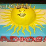 Торт Солнце_9