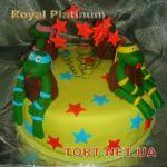 Торт Черепашки-Ниндзя_17