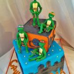 Торт Черепашки-Ниндзя_23