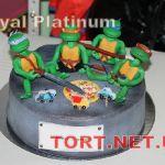 Торт Черепашки-Ниндзя_2