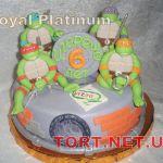Торт Черепашки-Ниндзя_6