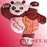 Торт Панда Кунг-фу_4