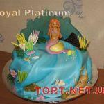 Торт Русалочка_12