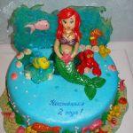 Торт Русалочка_23