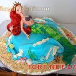 Торт Русалочка_7