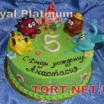 Торт Смешарики_11