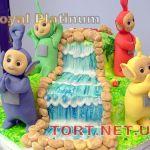 Торт Телепузики_4