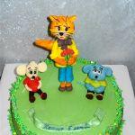 Торт Кот Леопольд_1