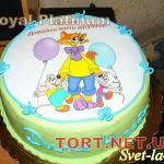 Торт Кот Леопольд_2
