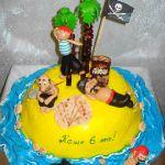 Торт Остров сокровищ_16