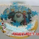 Торт Холодное сердце_19