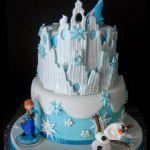 Торт Холодное сердце_20