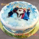 Торт Холодное сердце_3