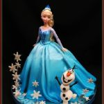 Торт Холодное сердце_9