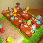 Торт Весёлая карусель_13