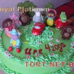 Торт Весёлая карусель_17