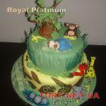Торт Книга джунглей (Маугли)_5